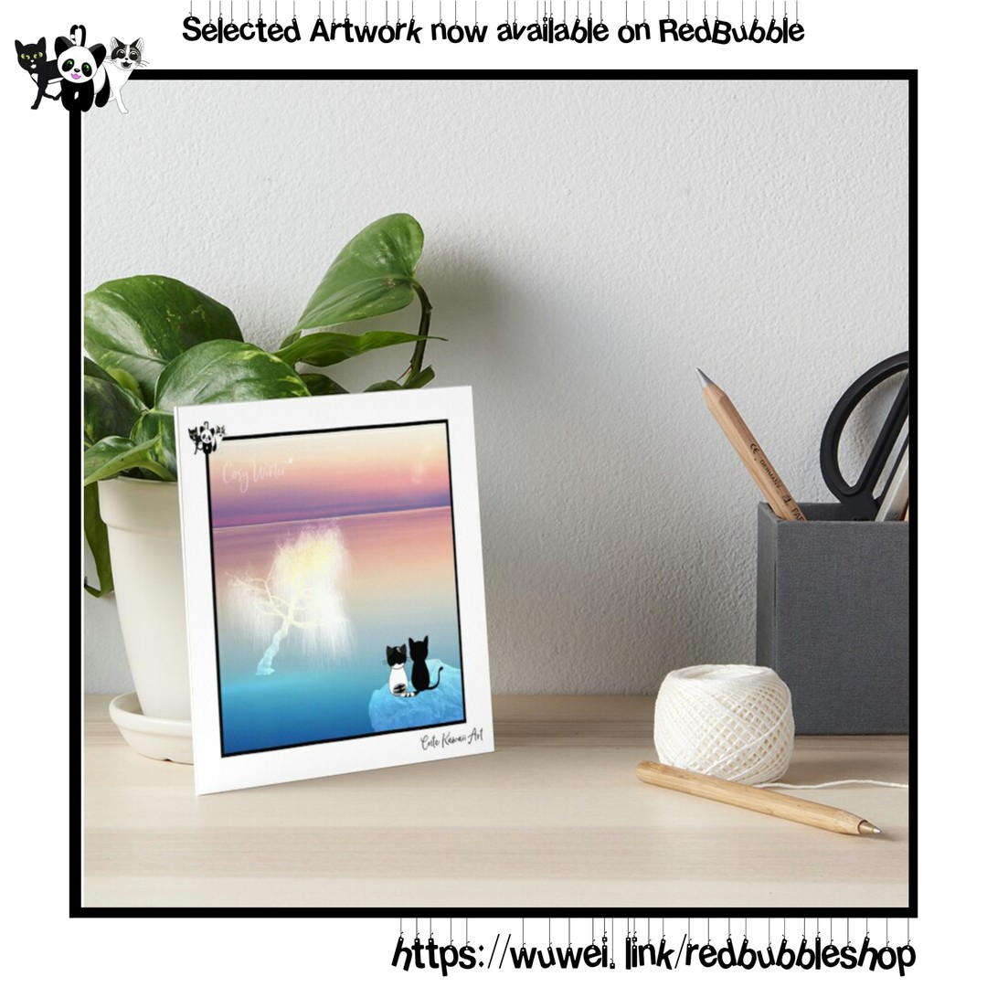 Selected Cute Kawaii Art artwork is now available on Redbubble!  by Cute Kawaii Art