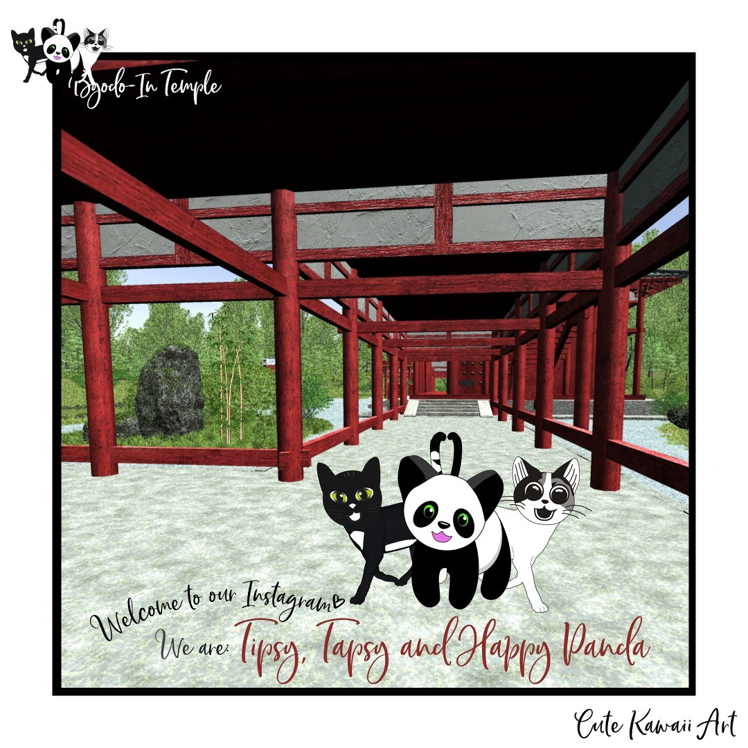 We are two cheeky cats named Tipsy and Tapsy and we love to hang out with Happy Panda. We are here to bring a smile and joy to you. Please enjoy our updates. by Cute Kawaii Art