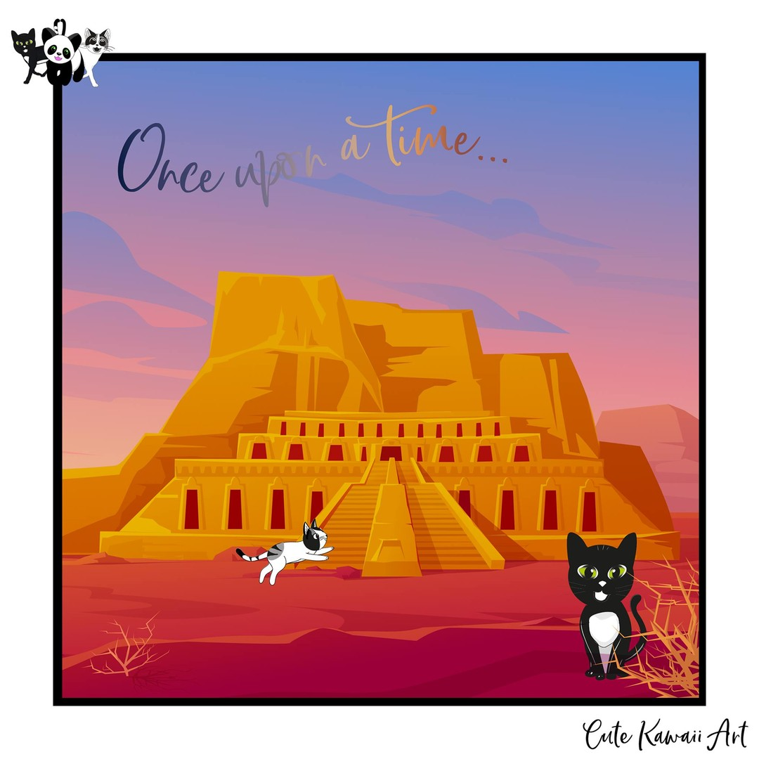 Once Upon a Time ...   by Cute Kawaii Art