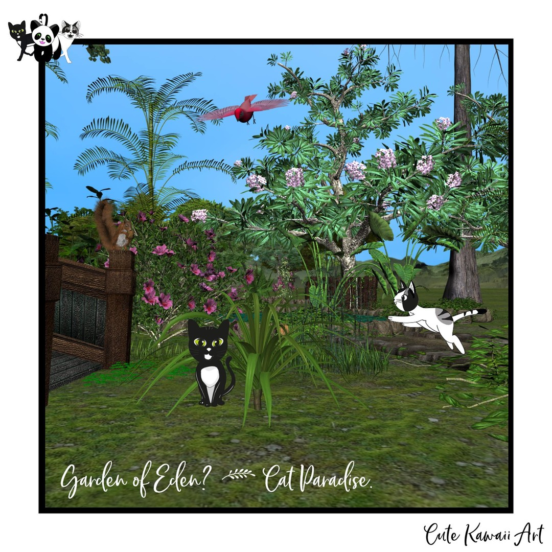 "Garden of Eden? > Cat Paradise.</p> <p> by Cute Kawaii Art"" title=""Garden of Eden? > Cat Paradise.</p> <p> by Cute Kawaii Art""/></p></div> <p>Garden of Eden? > Cat Paradise.</p> <p>We are two cheeky cats named Tipsy and Tapsy. We are here to bring a smile and joy to you. Please enjoy our updates. #TipsyTapsy #CuteKawaiiArt</p> <p>#cat #cats #catsofinstagram #catstagram #catlover #catlovers #instacat #catoftheday #kittens #cutecat #petsofinstagram<br /> .<br /> #illustration #art #drawing #artist #digitalart #artwork #artistsoninstagram #artoftheday #digitalillustration #manga #anime #digitaldrawing</p> <div align="